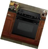 "GE PD968DPBB 30"" Black Drop-In Electric Range Convection NIB"