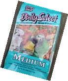 PRETTY BIRD PELLETS daily select medium, parrot food,