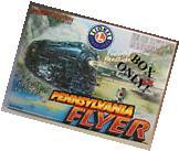 LIONEL PENNSYLVANIA FLYER  train set box empty o gauge steam
