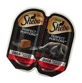 SHEBA Perfect Portions Wet Cat Food Trays Beef 2.6 oz