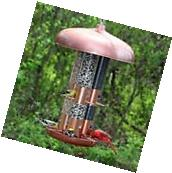 Perky-Pet 7103-2 Copper Finish Triple Tube Hanging Bird