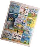 Pete the Cat Childrens Books Box Set I Can Read Phonics