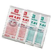 4x20ml, pH 4 + 4 + 7 + 7 Buffer Solution, for Digital pH