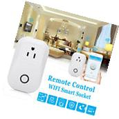 Smart WiFi Remote Outlet Switch Socket Work With Amazon Echo