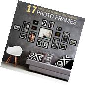Set of 17 Photo Frame Set Wall Hanging Family Picture