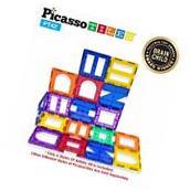 PicassoTiles PT42 Designer Artistry Kit 42pcs Set Magnetic