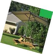 Picnic Table Umbrella Outdoor Patio Folding Garden Large