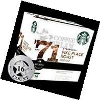 Starbucks Pike Place Roast-Medium-16 K cups