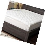 Hypoallergenic Mattress Cover Pillow Top Pad Cal King Size