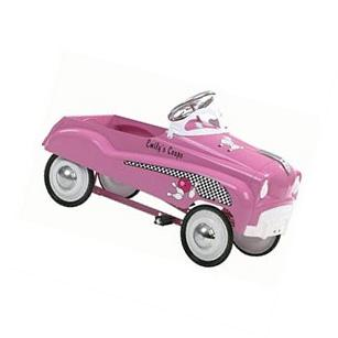 Kids InStep Pink Lady Pedal Car Ride Childs Toy