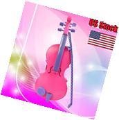 Pink Magic Child Music Violin Children's Musical Instrument Kids Gift US Stock