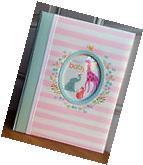 Carter's Pink Stripe DARLING Baby Girl Memory Keepsake Book