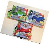 New PJ Masks 3 Pack Cars Figures Catboy Car Owlette Glider