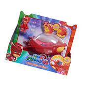 PJ MASKS - RED OWLETTE DELUXE LARGE Owl Glider Vehicle Car