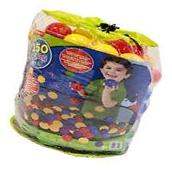 Count 150 Plastic Balls For Ball Pit Bouncy House Play Area