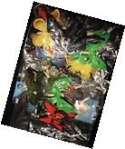LOT OF 24 Plastic Butterfly Bug Insect Figures Craft Party