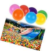 50x Baby Kids Plastic Colorful Play Balls For Ball Pit Ocean