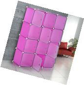 HOMCOM Plastic Cube Closet Organizer 12 Storage Wardrobe