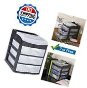 Plastic Organizer Drawers Storage Clear Rack Container Box