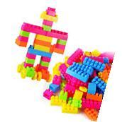 80Pcs Children Kid Plastic Puzzle Educational Building