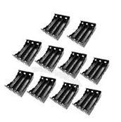 10pcs Plastic Storage Case Holder Box Clip w/ Pin For 3 x