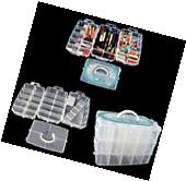 Plastic Storage Box Container Case 30 Organizer Nail Polish