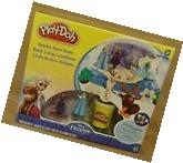 Play-Doh Set Disney Frozen Sparkle Snow Dome with Elsa and