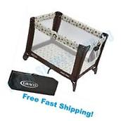 Play N Pack Playard Graco Baby Playpen Bassinet Crib Yard