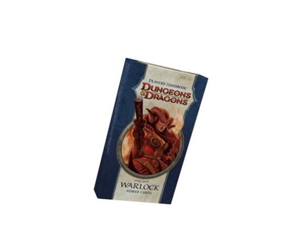 Player's Handbook - Warlock Power Cards: A 4th Edition D&D