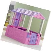 Playhouse Playing Toy Indoor Outdoor Play Plastic House Kids