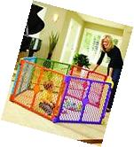 Baby Playpen Kids 6 Panel Safety Play Center Yard Home