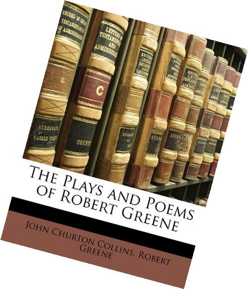 The Plays & Poems of Robert Greene