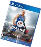 PLAYSTATION 4 PS4 GAME NBA LIVE 16 2016 BRAND NEW AND SEALED