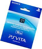 Official Playstation Vita 16GB Memory Card PSV Genuine New