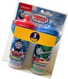 PLAYTEX SIPSTERS THOMAS THE TRAIN STAGE 3 INSULATED SPOUT