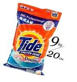 TIDE PLUS + Downy Powder Detergent Professional P&G  20 Lbs