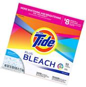 Tide Plus Bleach Original Laundry Detergent Powder 95 oz