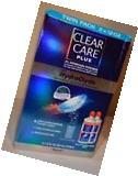 CLEAR CARE PLUS hydraglyde CONTACT Lens Solution 2x 12oz