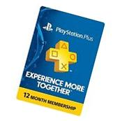 Sony PlayStation Plus 12 Month Membership for Hong Kong