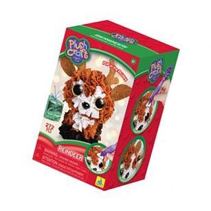 Plush Craft Fabric Fun Mini Kit-Polarbear 76559