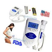 Pocket Fetal Doppler ultrasonic baby heart beat monitor with