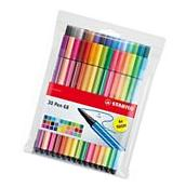 Stabilo Point 68 30-color Wallet Set Pens For Fine Writing,