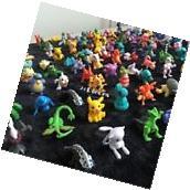 Pokemon Mini Action Figures 72 Pcs Set Pokemon Figure Toys