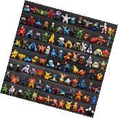 NEW 144pcs Pokemon Toy Set Mini Action Figures Pokémon Go