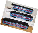 LIONEL 6-30218 POLAR EXPRESS 3 PASSENGER CAR SET TRAIN O