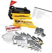 Stanley Full Polish 235pc Mechanics tool Set with 3-Drawer