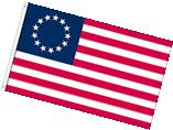 3x5 FT POLYESTER US AMERICAN BETSY ROSS 13 STAR USA HISTORIC