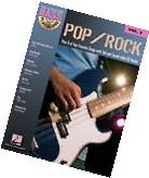 Pop Rock Sheet Music Bass Play-Along Book and CD NEW