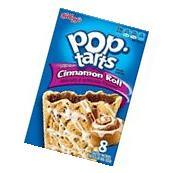 Kellogg's Pop Tarts Frosted Cinnamon Rolls Toaster Pastries