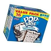 Kellogg's Pop Tarts Frosted Cookies & Creme Toaster Pastries
